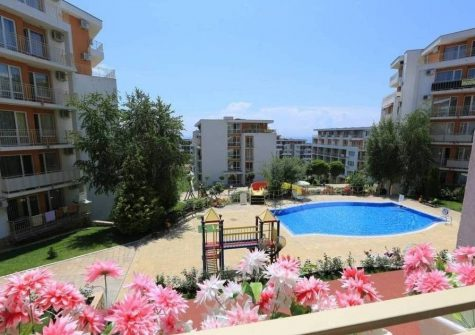 Sunny Beach – Studio with Sea View