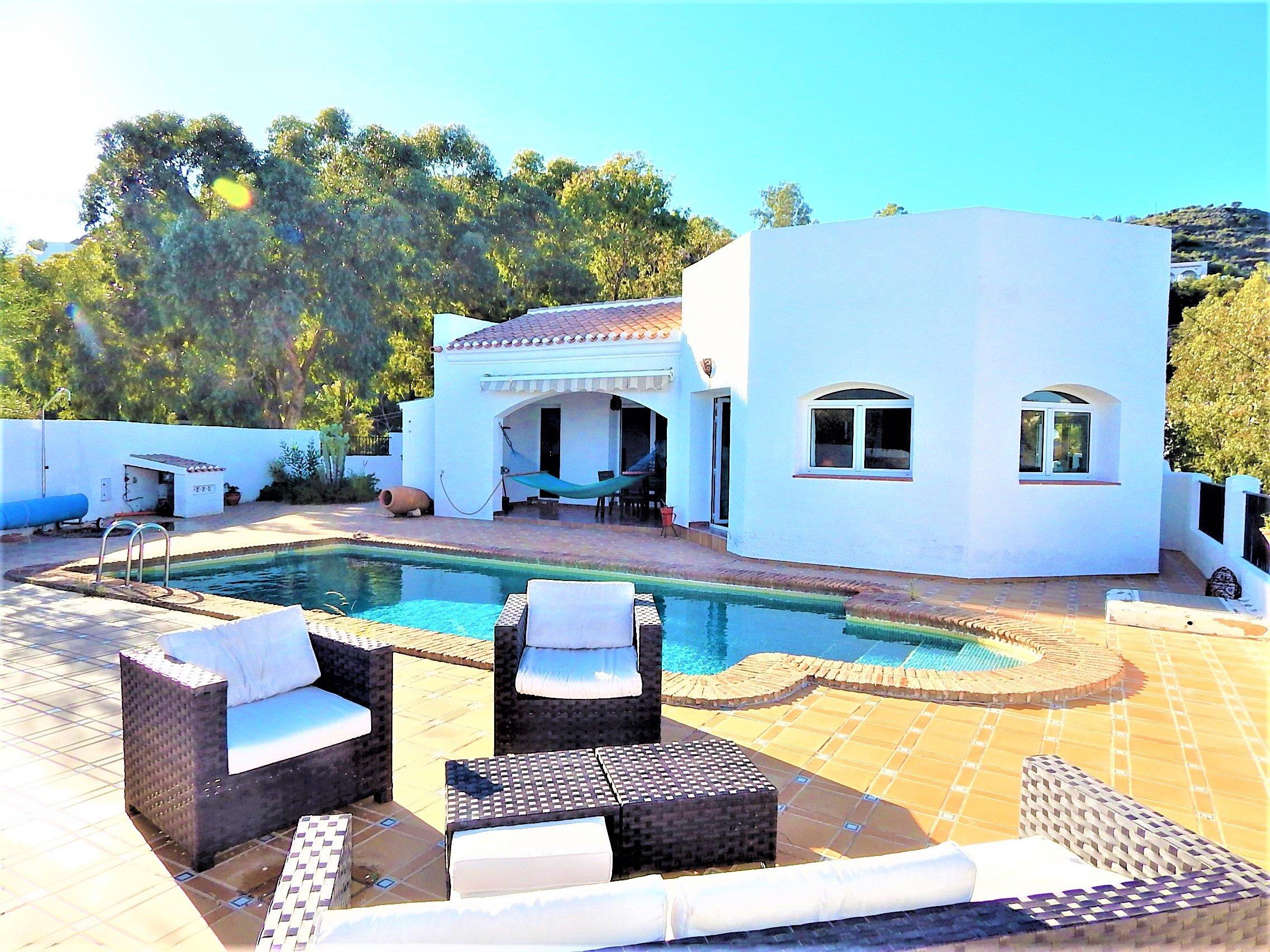 Mojacar Spain Costa Almeria Stunning Villa For Sale