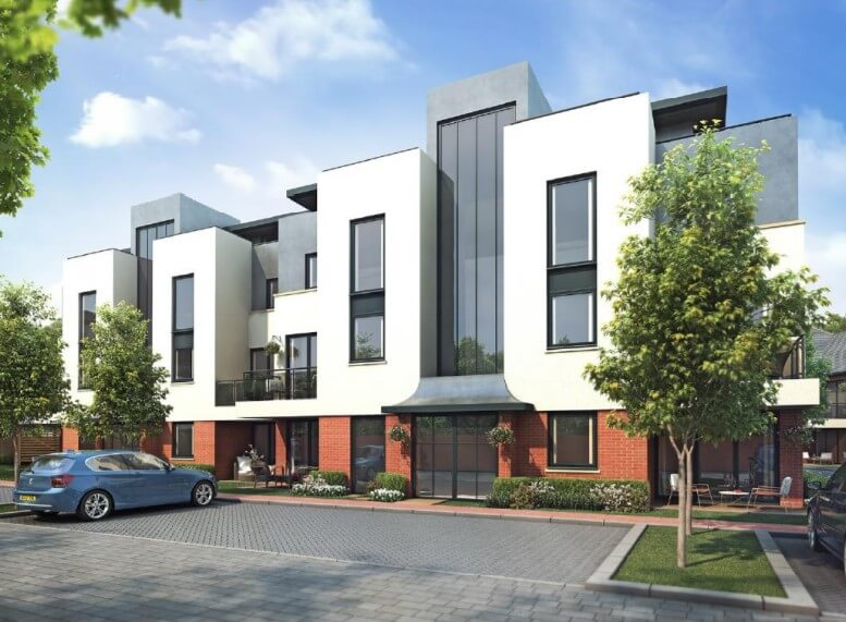 Development Site For Sale Newbury Park With Approved Planning For 35 Apartments